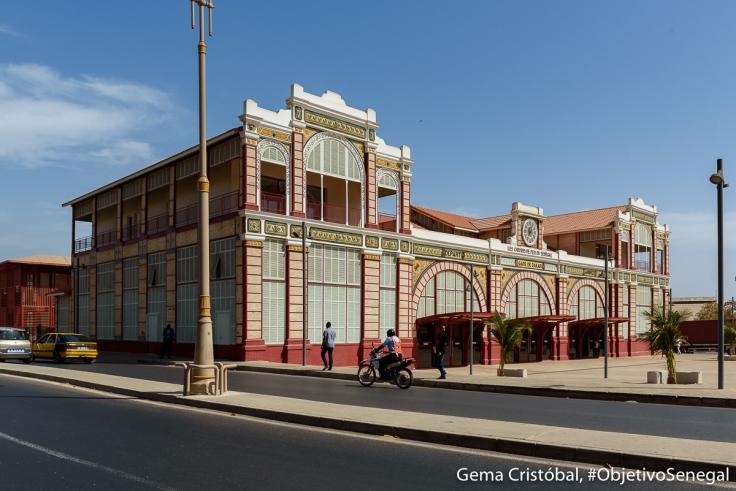 Estación de tren Dakar